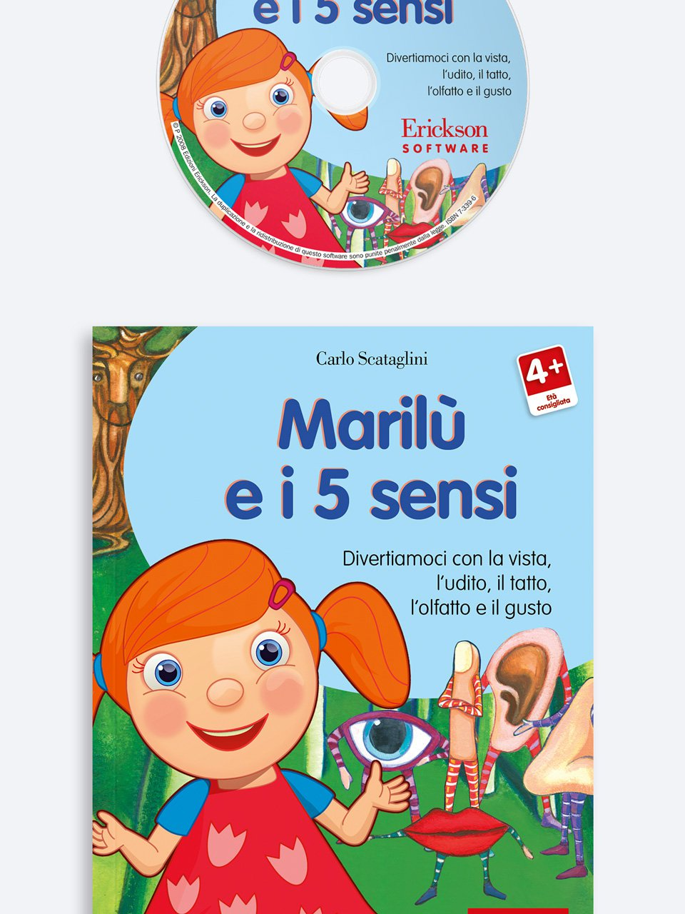 Marilù e i 5 sensi - Quattro stagioni per giocare - Libri - Erickson