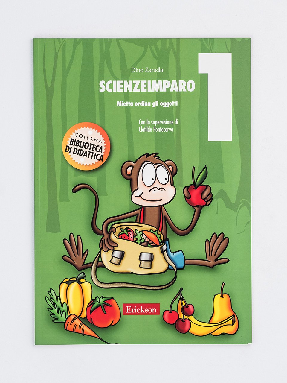 ScienzeImparo 1 - ScienzeImparo 3 - Libri - Erickson