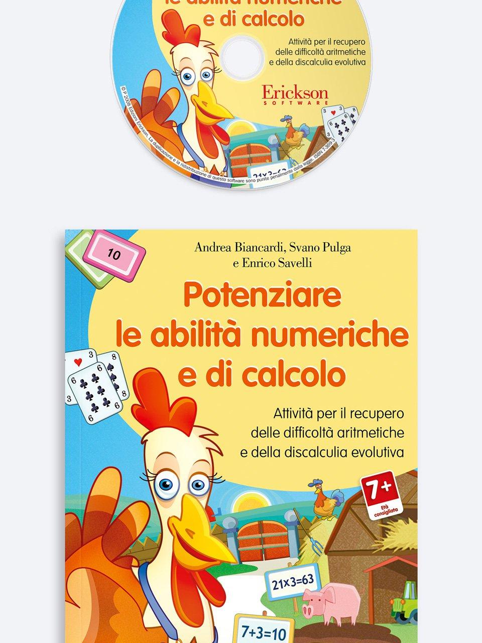 Potenziare le abilità numeriche e di calcolo - Test ABCA - Abilità di calcolo aritmetico - Libri - Erickson