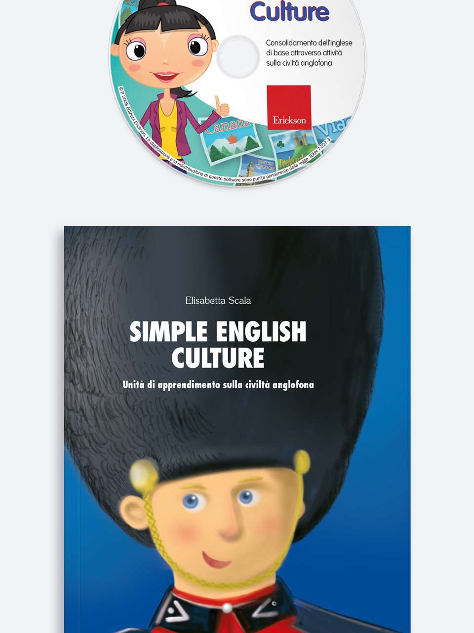 Simple English Culture - Français facile - Libri - App e software - Erickson 2