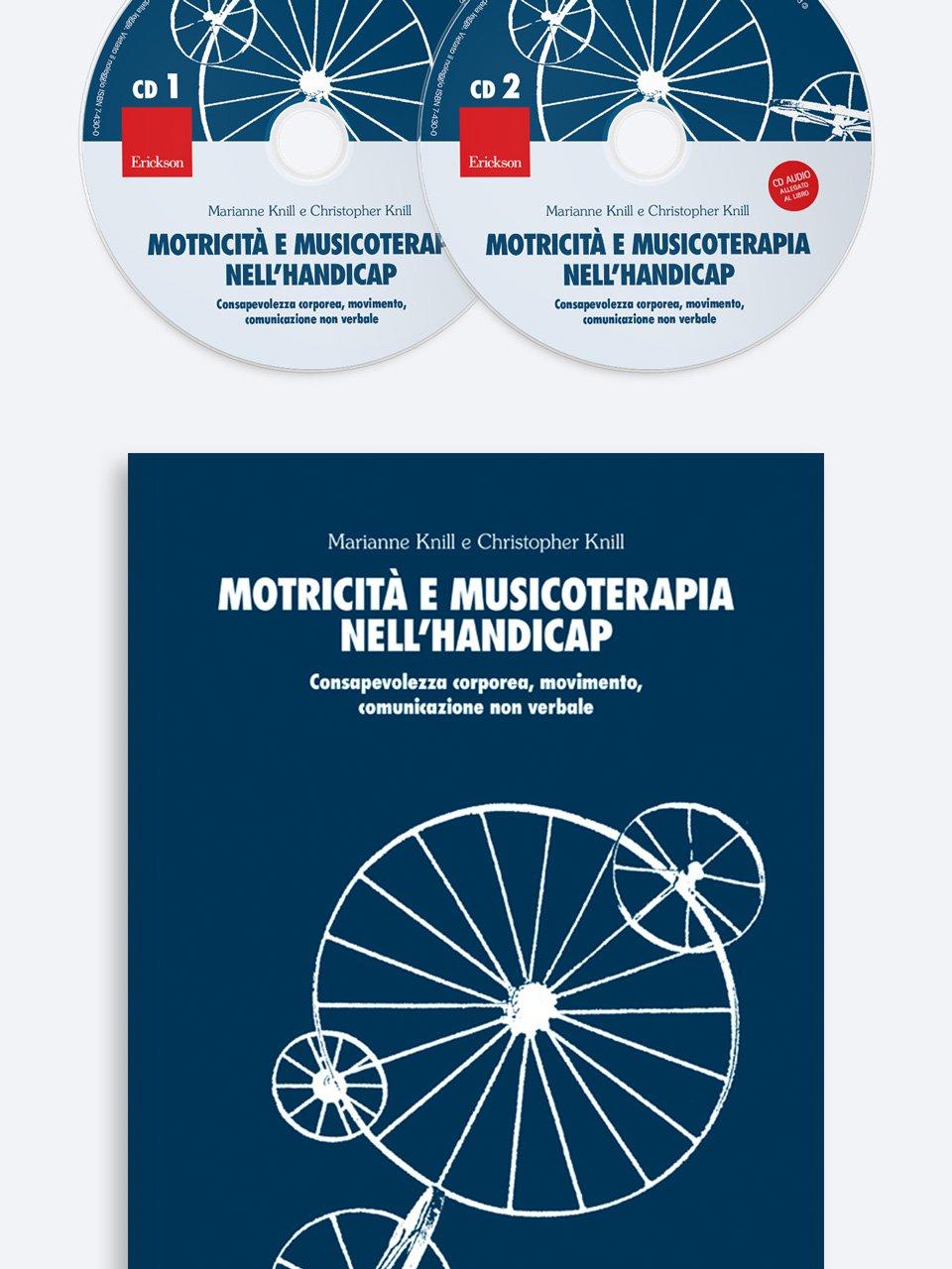 Motricità e musicoterapia nell'handicap - Musicalità e pratiche inclusive - Libri - Erickson