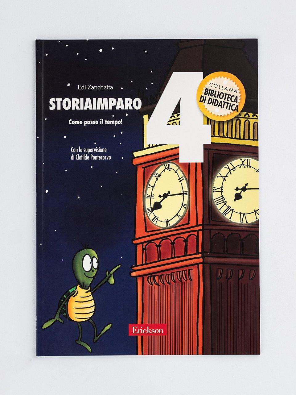 StoriaImparo 4 - Storie per 20 regioni - Libri - Erickson