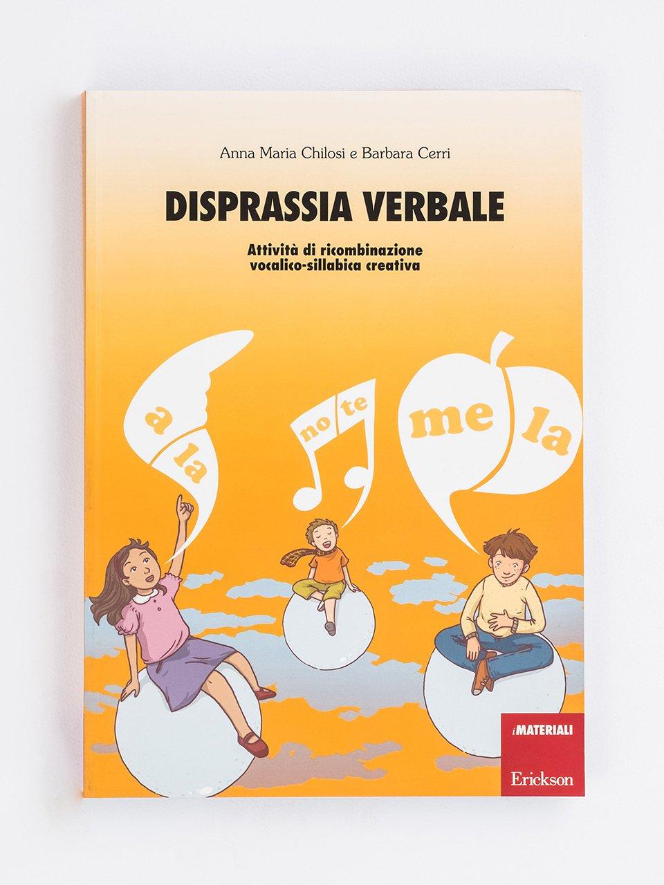 Disprassia verbale - Disprassia e apprendimento - Libri - Erickson 2