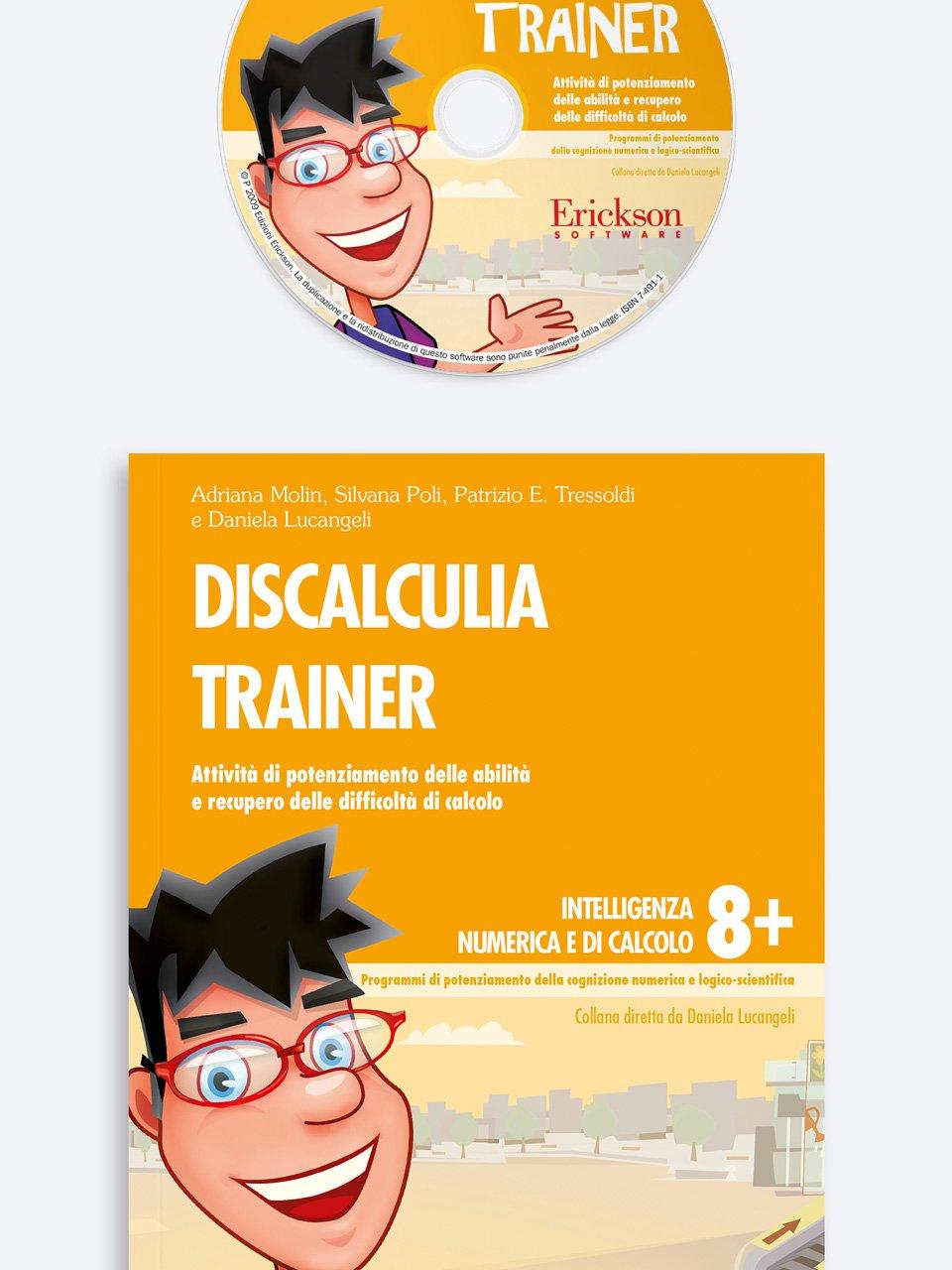 Discalculia trainer - Daniela Lucangeli - Erickson