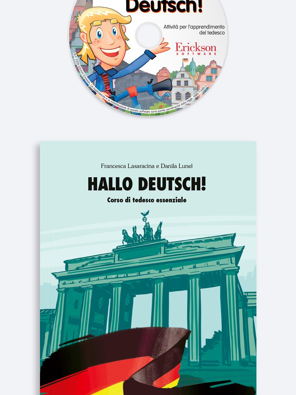 Hallo Deutsch! - Libri - App e software - Erickson 5