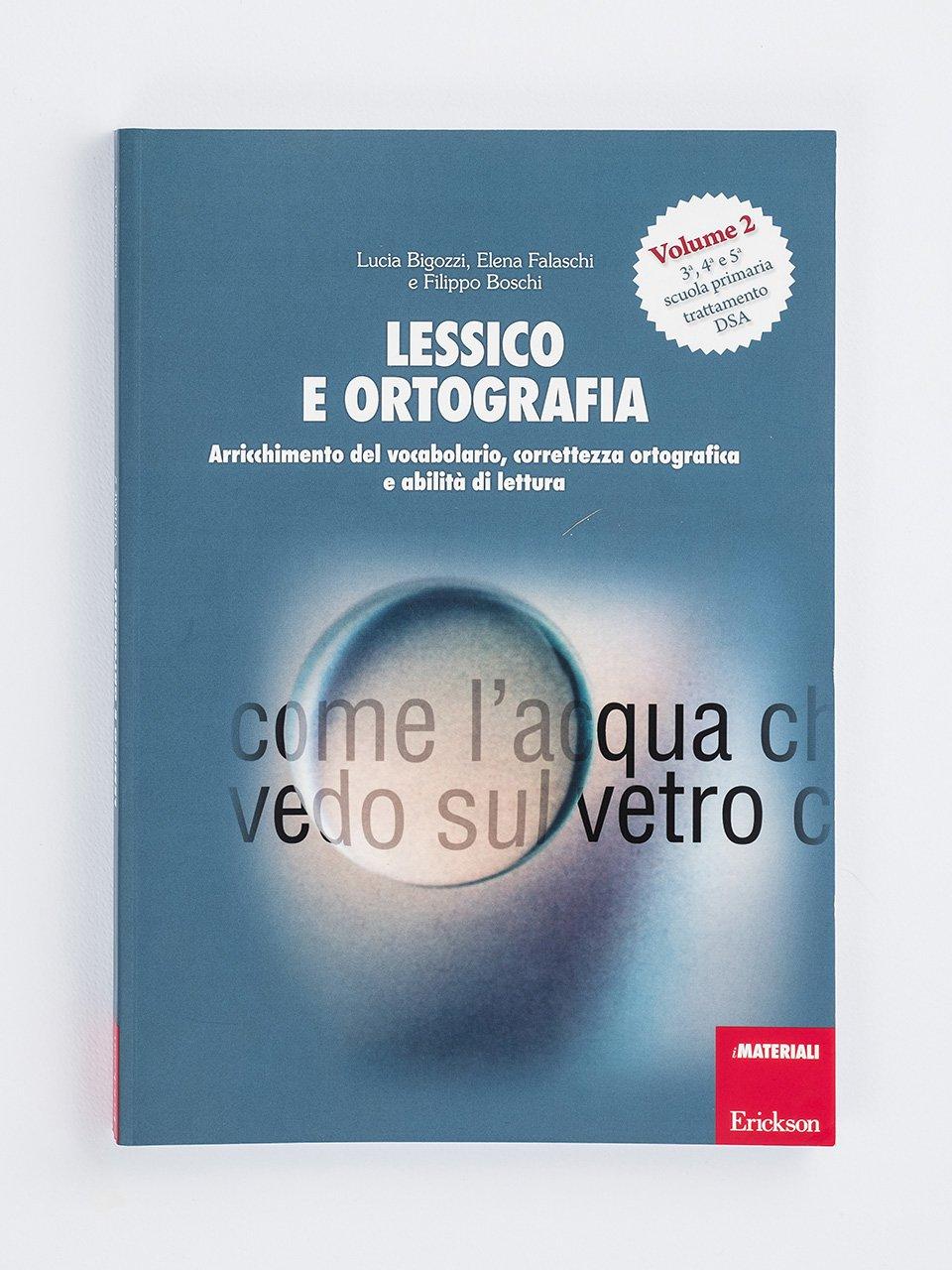 Lessico e ortografia - Volume 2 - Sillabe in gioco - Giochi - Erickson 2
