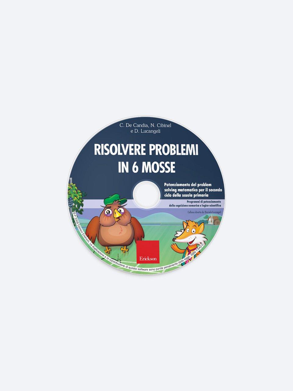 Risolvere problemi in 6 mosse - Facciamo il punto su... La discalculia - Libri - Erickson 3