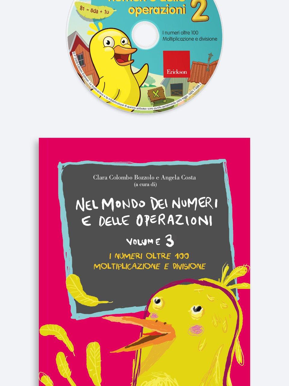 Nel mondo dei numeri e delle operazioni Vol 3 + CD-Rom - Magica-mente 1 - Libri - Erickson
