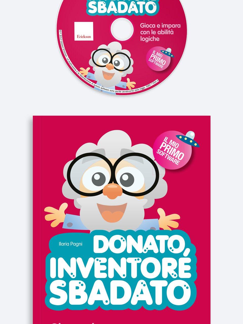 Donato, inventore sbadato - Prime storie 2 - SCUOLA DELL'INFANZIA - Libri - Erickson
