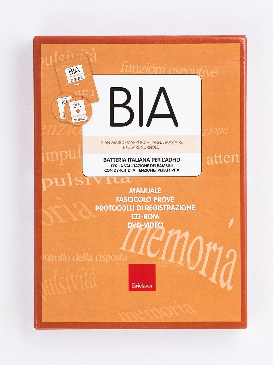 BIA - Batteria italiana per l'ADHD - Libri - Erickson