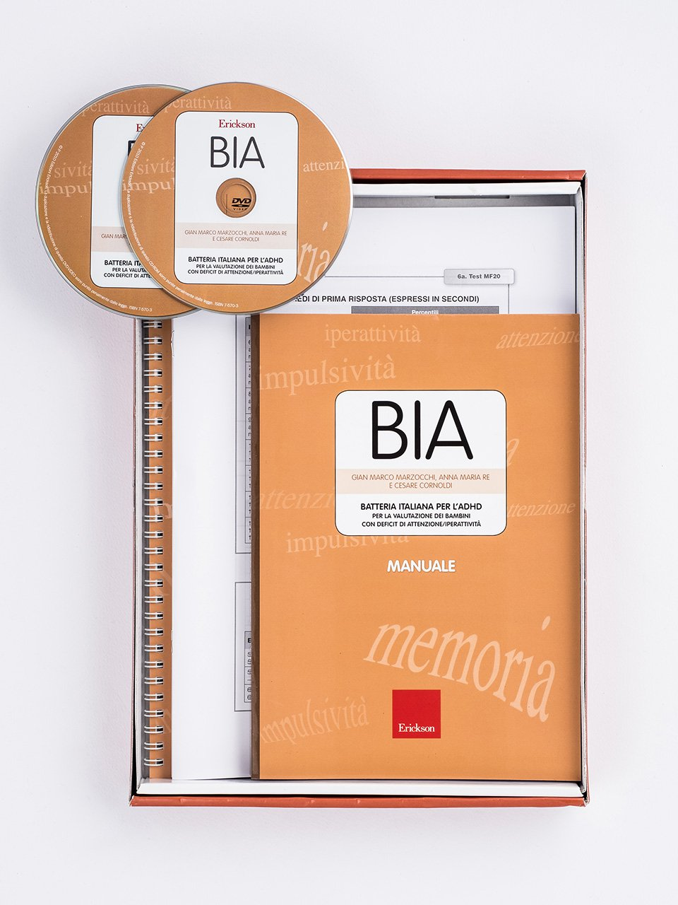 BIA - Batteria italiana per l'ADHD - Libri - Erickson 2
