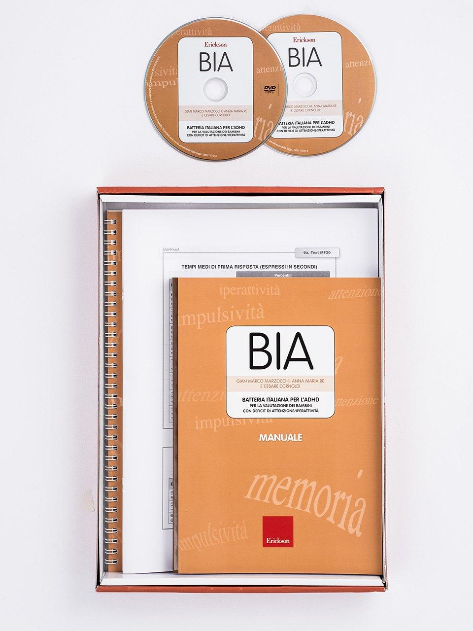 BIA - Batteria italiana per l'ADHD - Libri - Erickson 3