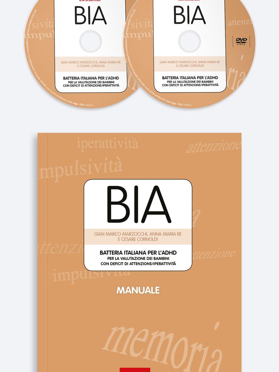 BIA - Batteria italiana per l'ADHD - Libri - Erickson 4
