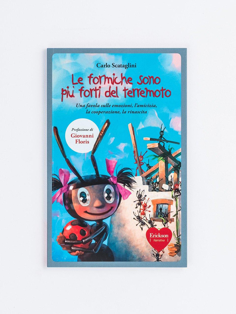 Le formiche sono più forti del terremoto - Schede per Tablotto (6-8 anni) - Parole e frasi st - Giochi - Erickson