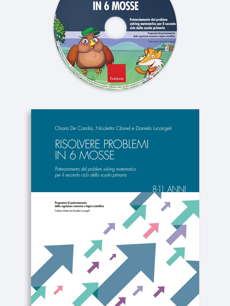 Risolvere problemi in 6 mosse - Facciamo il punto su... La discalculia - Libri - Erickson 2