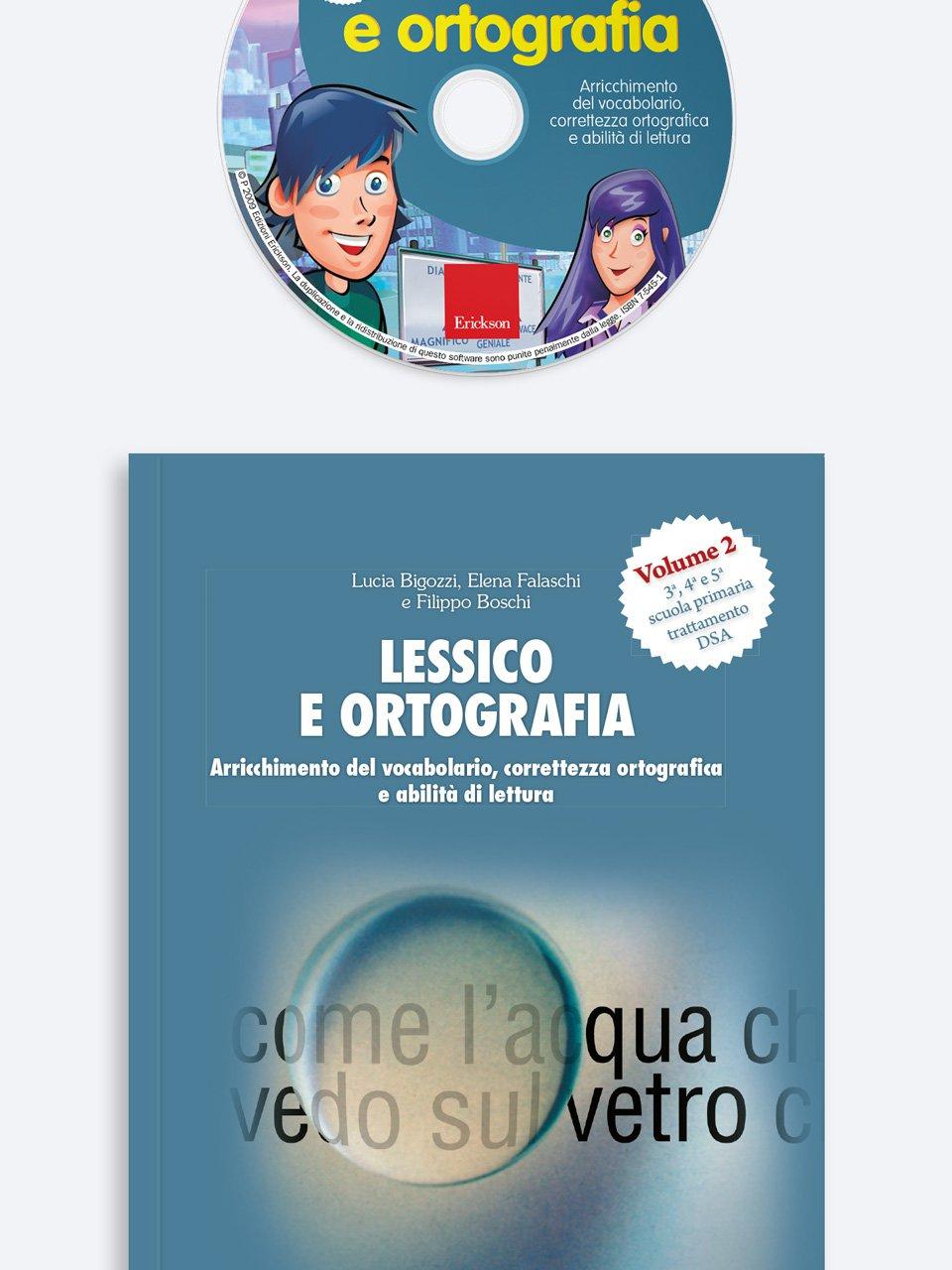 Lessico e ortografia - Volume 2 - Sillabe in gioco - Giochi - Erickson