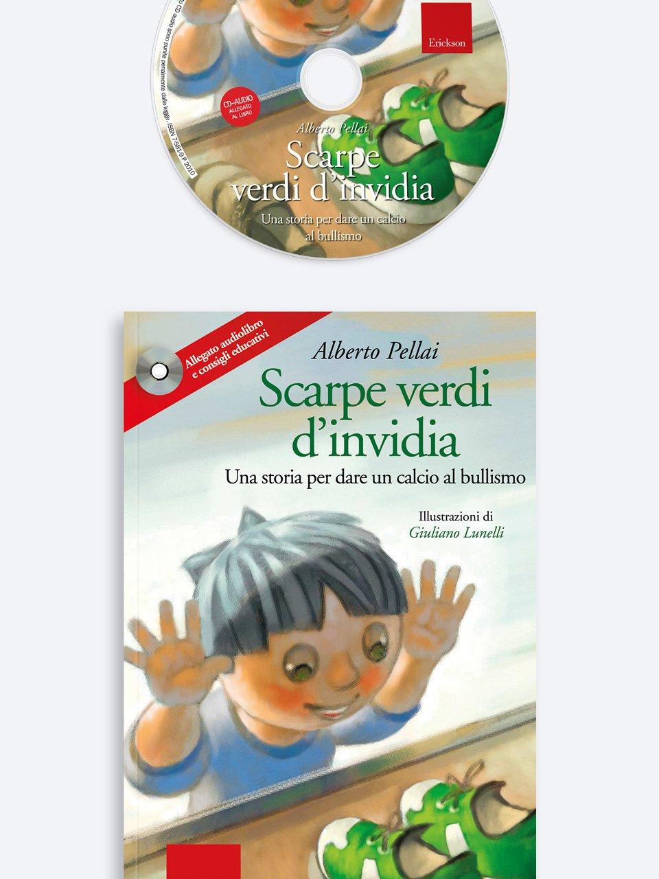 Scarpe verdi d'invidia - Alberto Pellai - Erickson