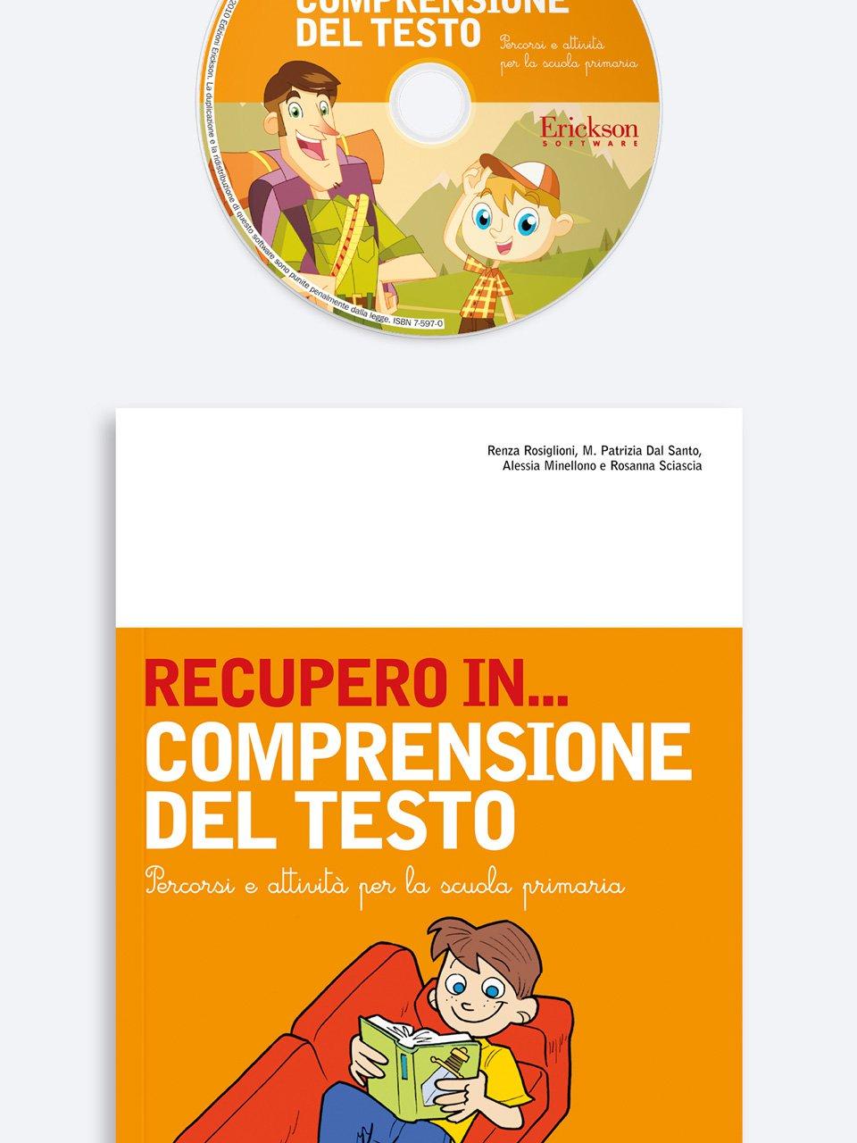 RECUPERO IN... Comprensione del testo - RECUPERO IN... Abilità di lettura 2 - Libri - App e software - Erickson 3