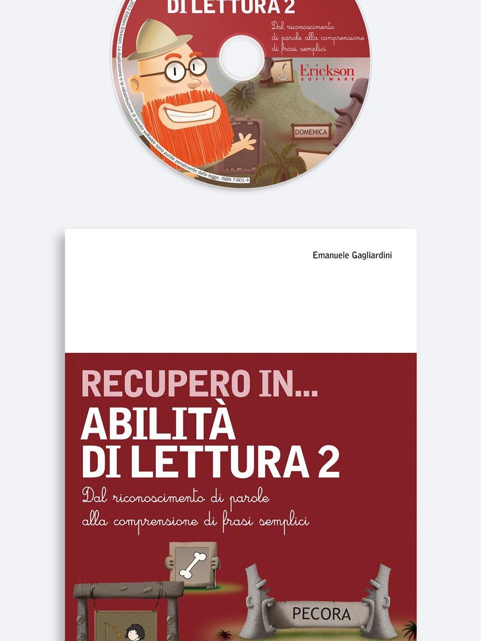 RECUPERO IN... Abilità di lettura 2 - Leggere per immagini - Libri - Erickson 3