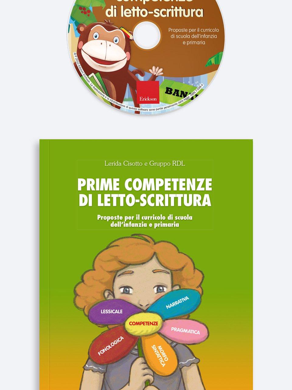 Prime competenze di letto-scrittura - Un gioco di P.A.R.O.L.E. - Strumenti - Erickson 3