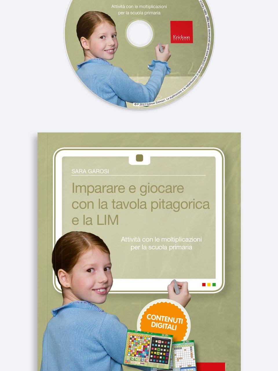 Imparare e giocare con la tavola pitagorica e la LIM - App e software per Scuola, Autismo, Dislessia e DSA - Erickson