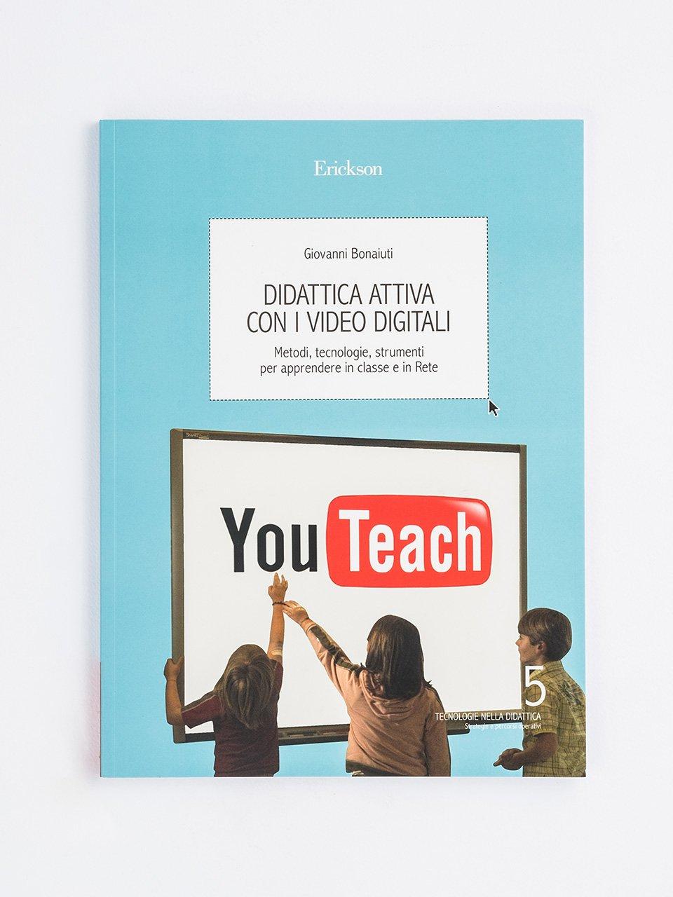 Didattica attiva con i video digitali - La caverna digitale - Libri - Erickson