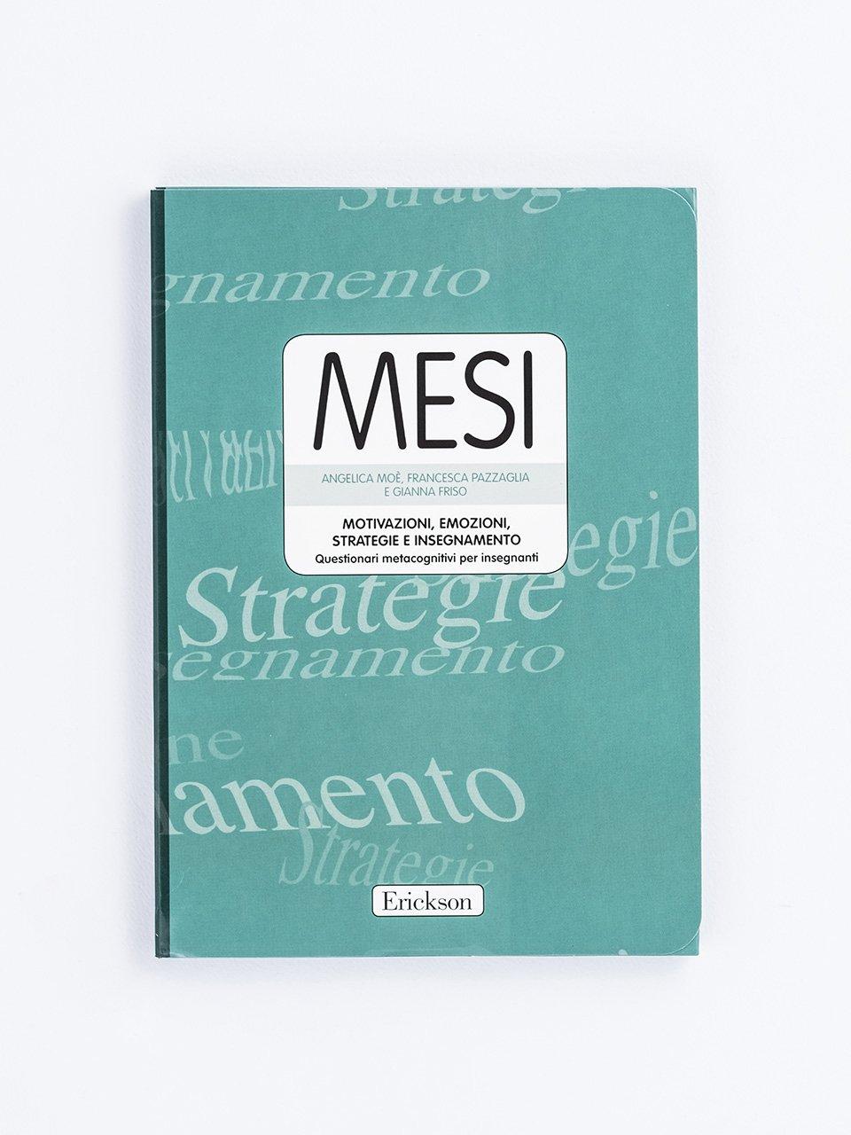 MESI - Motivazioni, Emozioni, Strategie e Insegnamento - Italiano / Storia / Geografia - Erickson