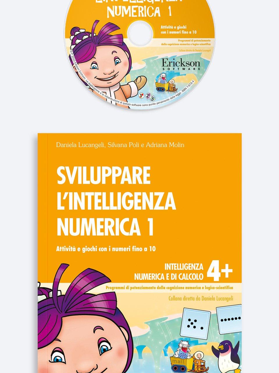 Sviluppare l'intelligenza numerica 1 - Test ABCA - Abilità di calcolo aritmetico - Libri - Erickson