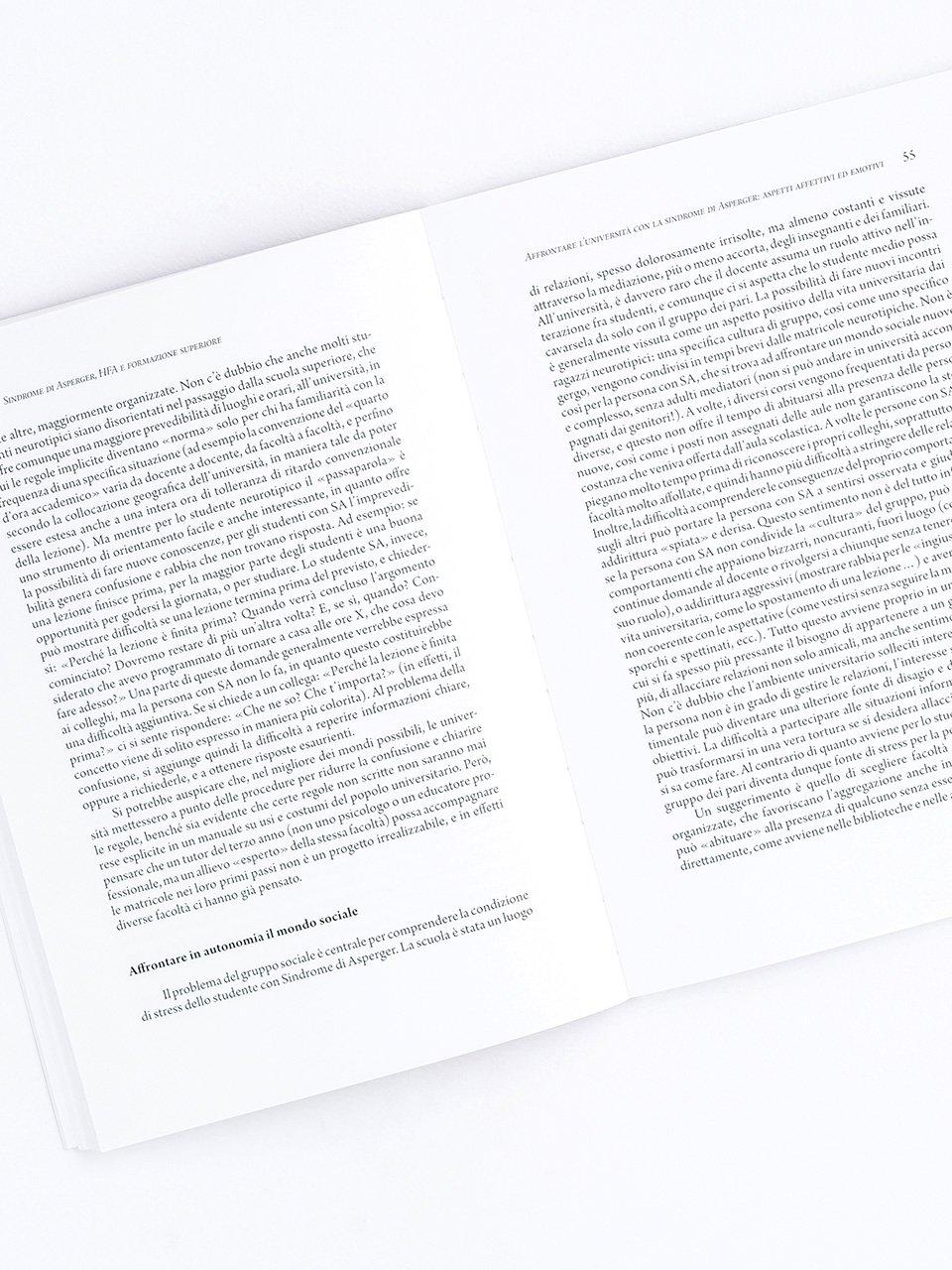 Sindrome di Asperger, HFA e formazione superiore - Libri - Erickson 2