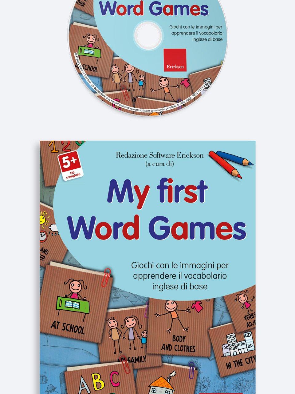My First Word Games - App e software per Scuola, Autismo, Dislessia e DSA - Erickson