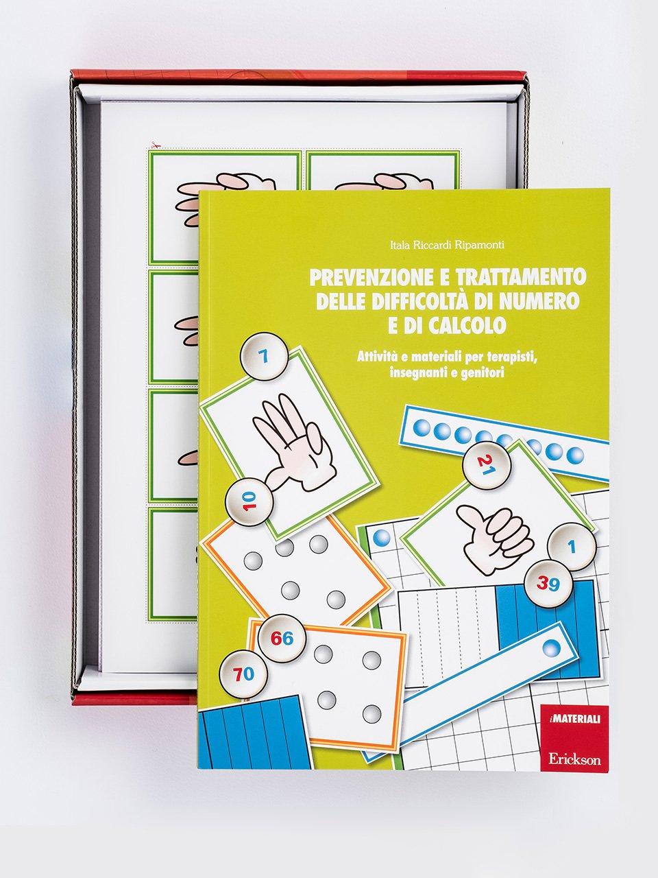 Prevenzione e trattamento delle difficoltà di numero e di calcolo - Tabelline e difficoltà aritmetiche - Libri - App e software - Erickson