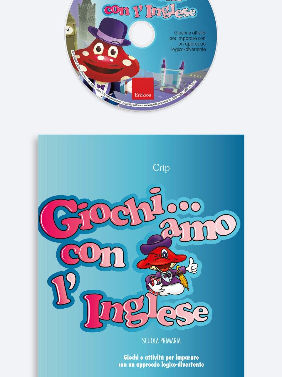 Giochi... amo con l'inglese - Scuola primaria - Schede per Tablotto (Età 8+) - Play and Learn with - Giochi - Erickson 3