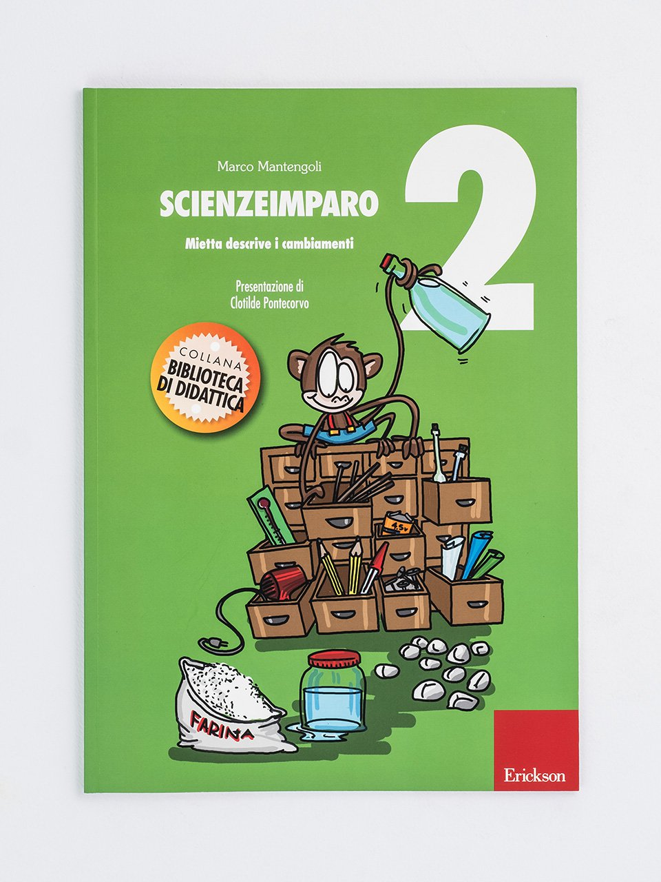 ScienzeImparo 2 - ScienzeImparo 3 - Libri - Erickson