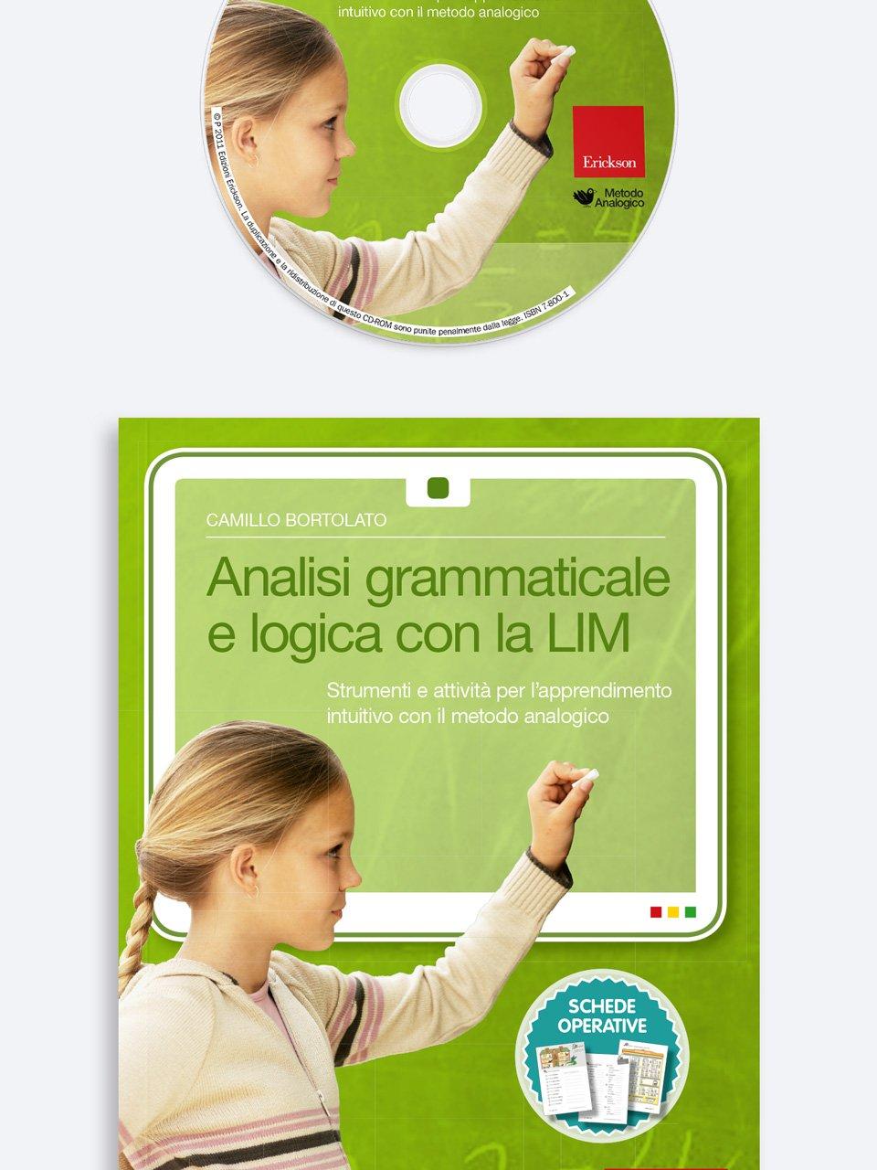 Analisi grammaticale e logica con la LIM - Metodo Analogico altre proposte - Erickson