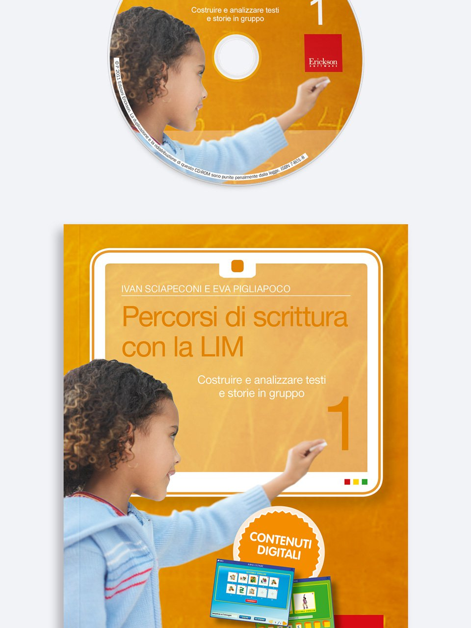 Percorsi di scrittura con la LIM 1 - Il Parent Coaching per l'intervento precoce nello  - Formazione - Erickson