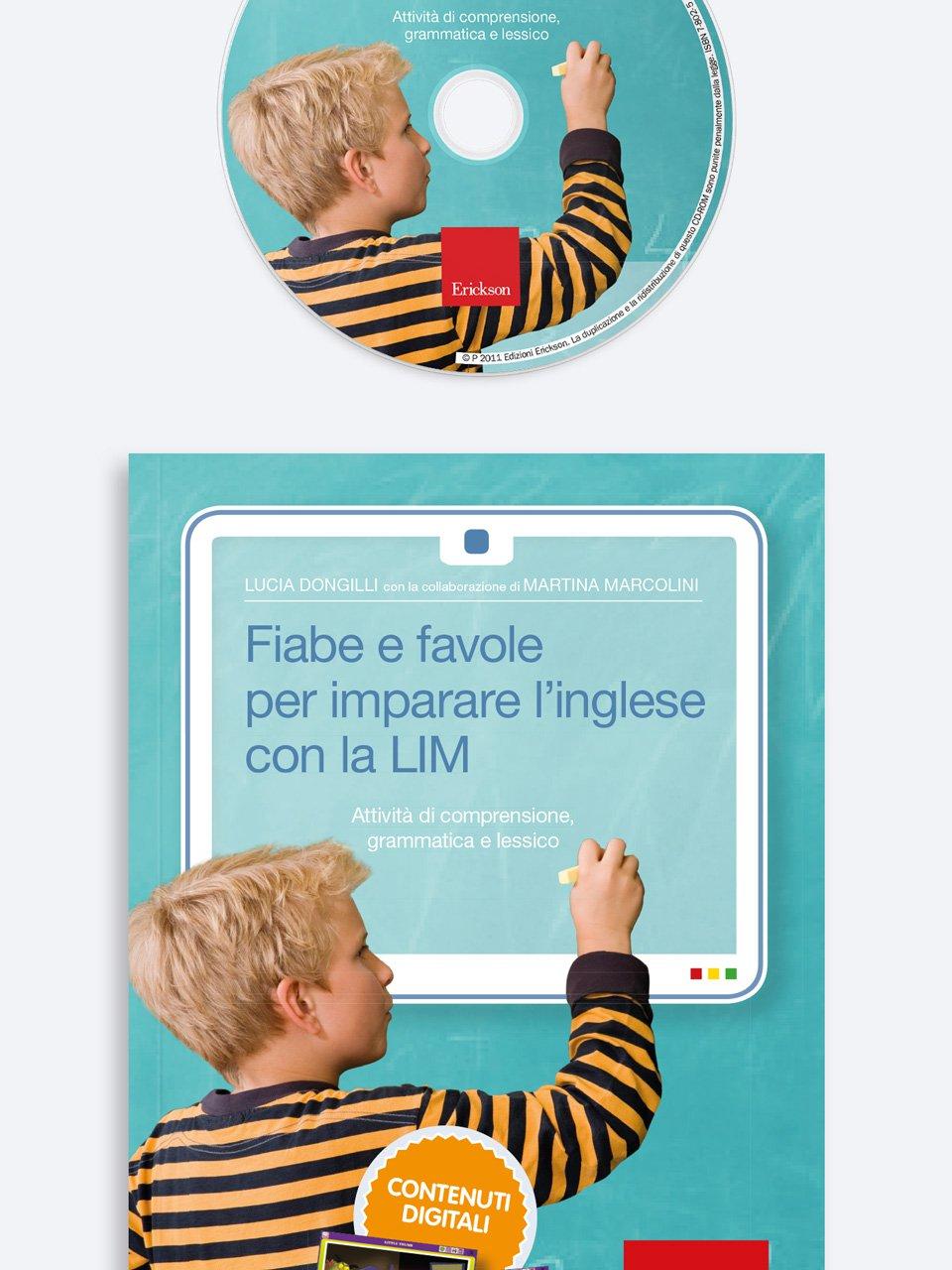 Fiabe e favole per imparare l'inglese con la LIM - Schede per Tablotto (Età 8+) - Play and Learn with - Giochi - Erickson