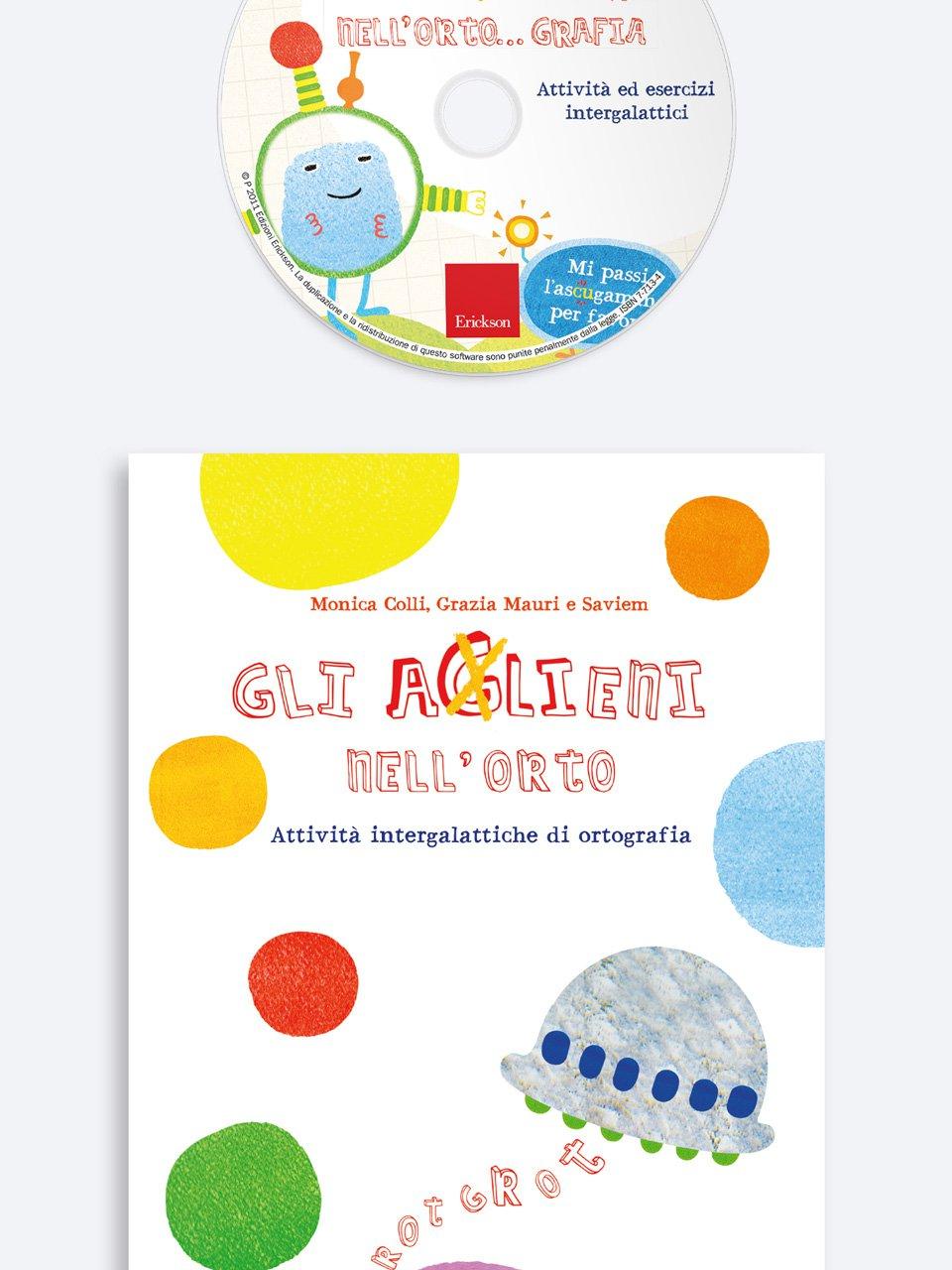 Gli aGlieni nell'orto - Astuccio delle regole di italiano - Libri - Erickson 3
