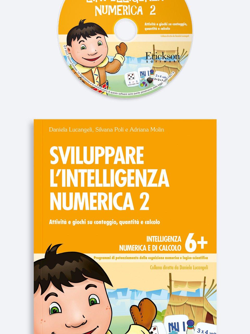 Sviluppare l'intelligenza numerica 2 - Daniela Lucangeli - Erickson