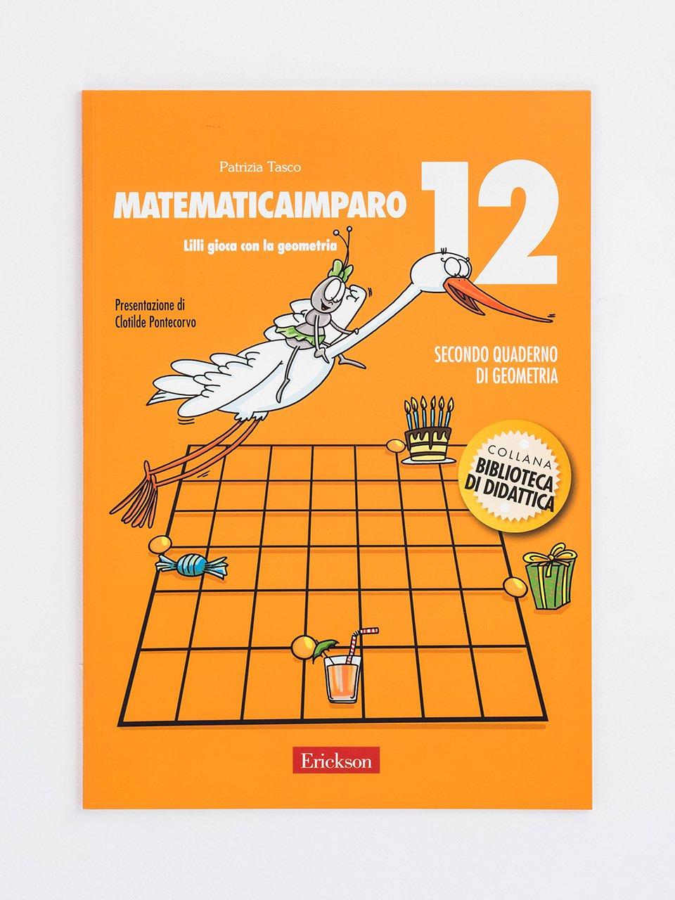 MatematicaImparo 12 - MatematicaImparo 10 - Libri - Erickson