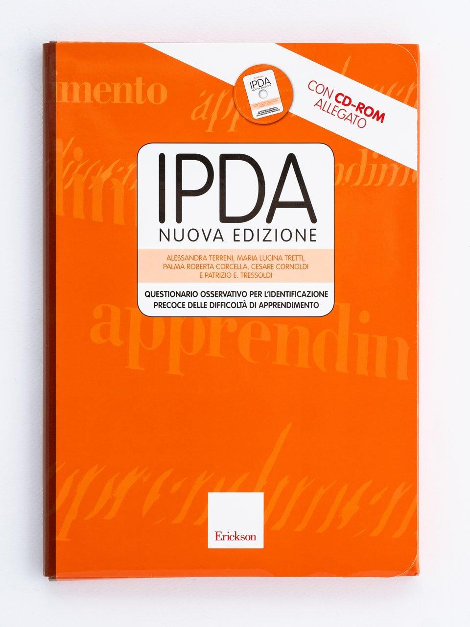 Test IPDA - Libri - Strumenti - Erickson 3