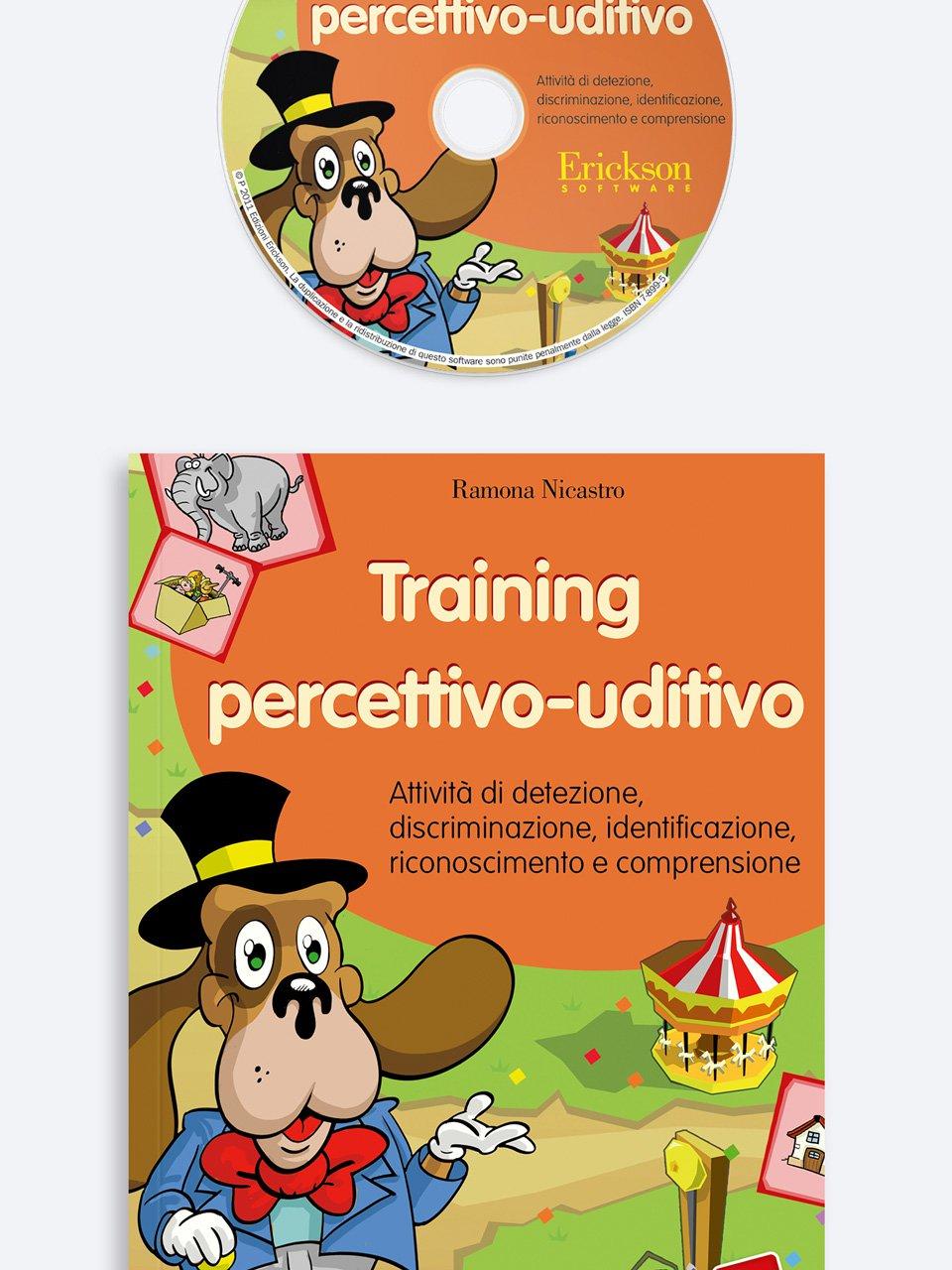 Training percettivo-uditivo - Stimolare le abilità percettivo-uditive - Libri - Erickson