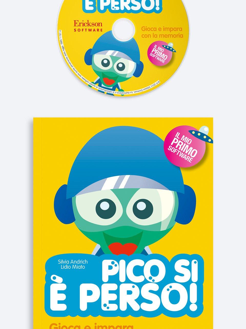Pico si è perso! - App e software per Scuola, Autismo, Dislessia e DSA - Erickson