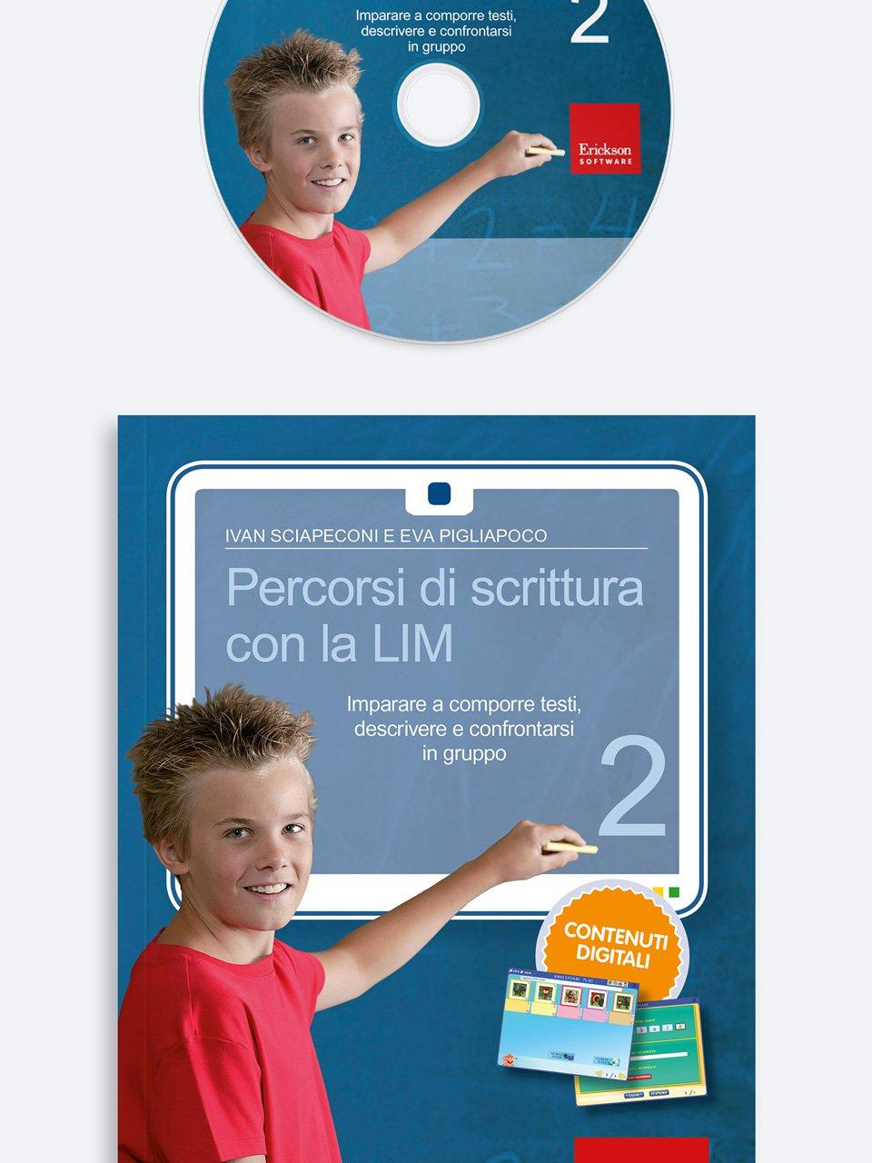 Percorsi di scrittura con la LIM 2 - Laboratorio preposizioni articolate - Libri - Erickson