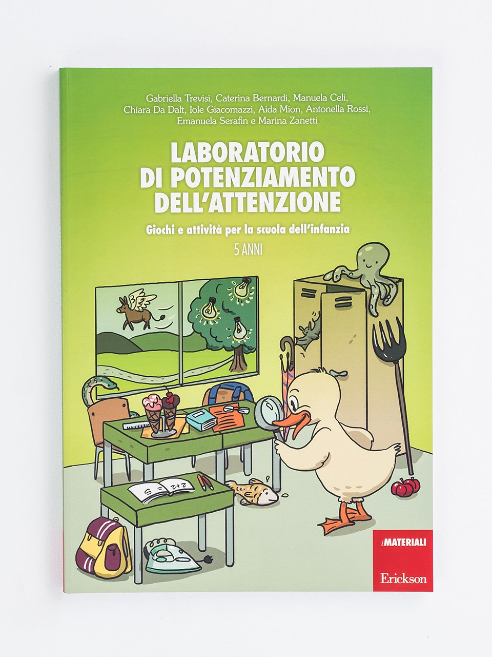 Laboratorio di potenziamento dell'attenzione - Conosco il mondo con la LIS - Libri - Erickson