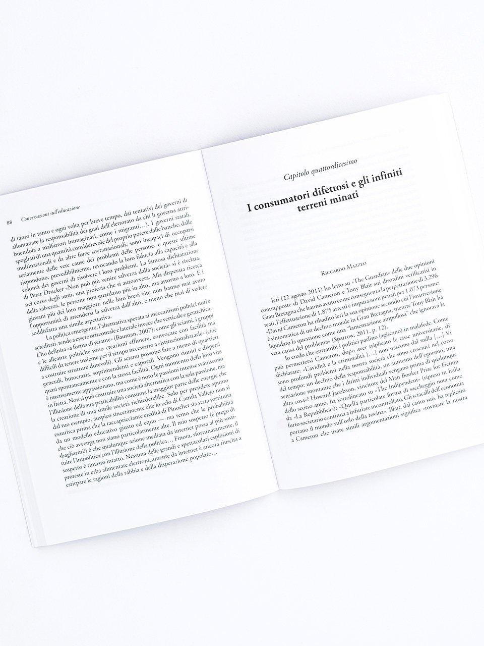 Conversazioni sull'educazione - Libri - Erickson 2