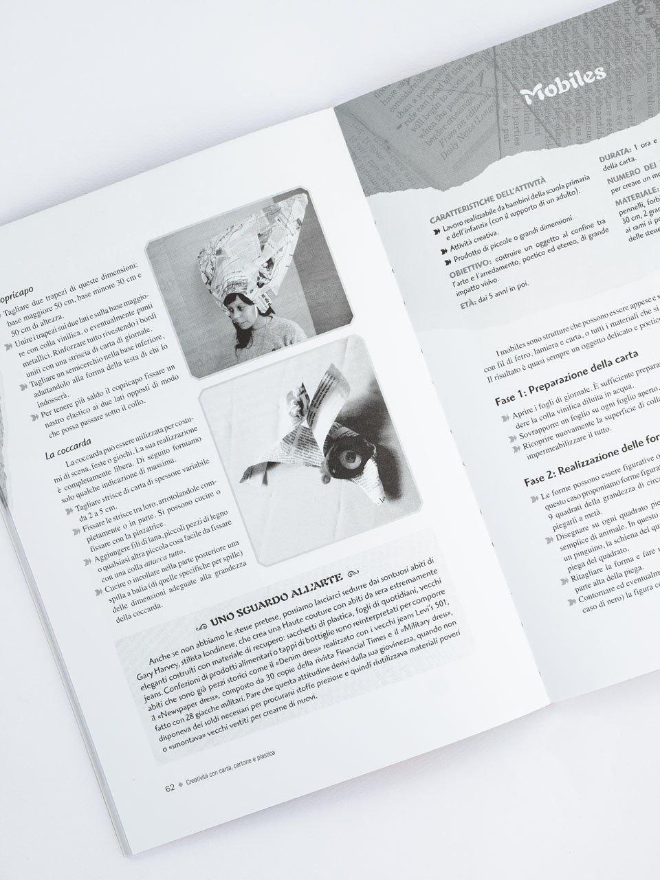 Creatività con carta, cartone e plastica - Libri - Erickson 2