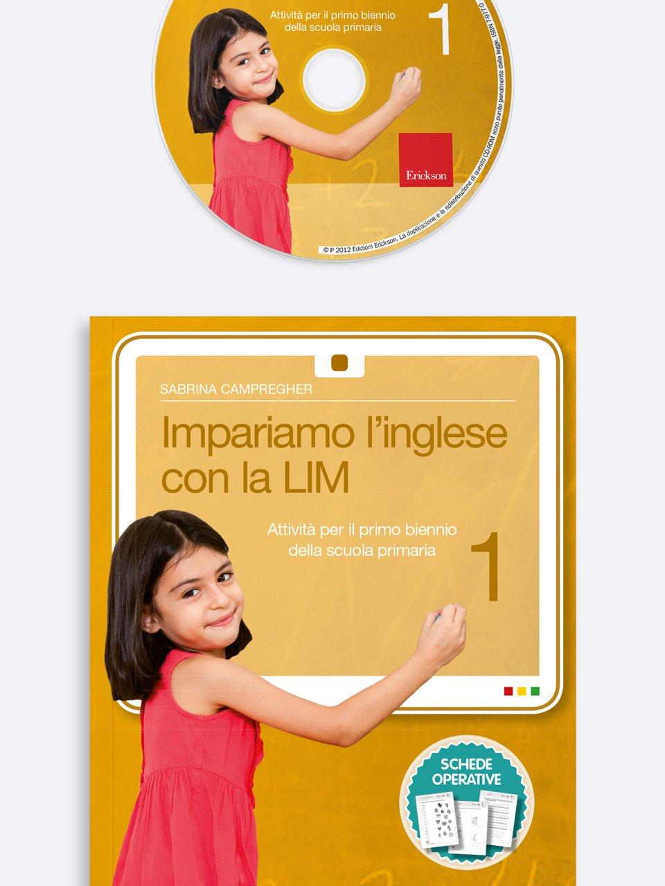 Impariamo l'inglese con la LIM 1 - Hallo Deutsch! - Libri - App e software - Erickson