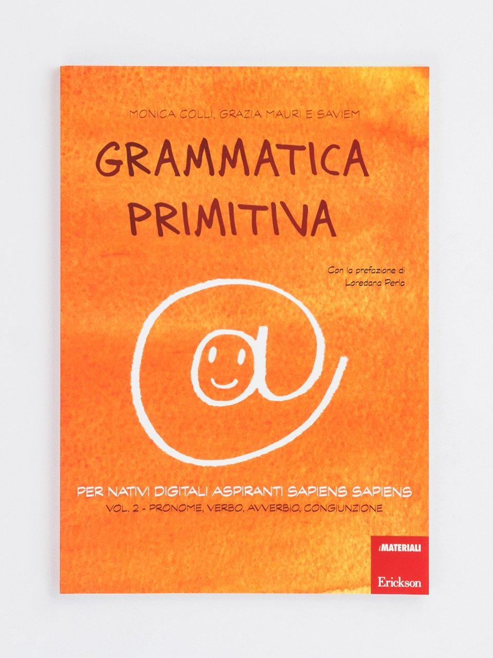 Grammatica primitiva - Volume 2 - Giocadomino - Sinonimi - Giochi - Erickson