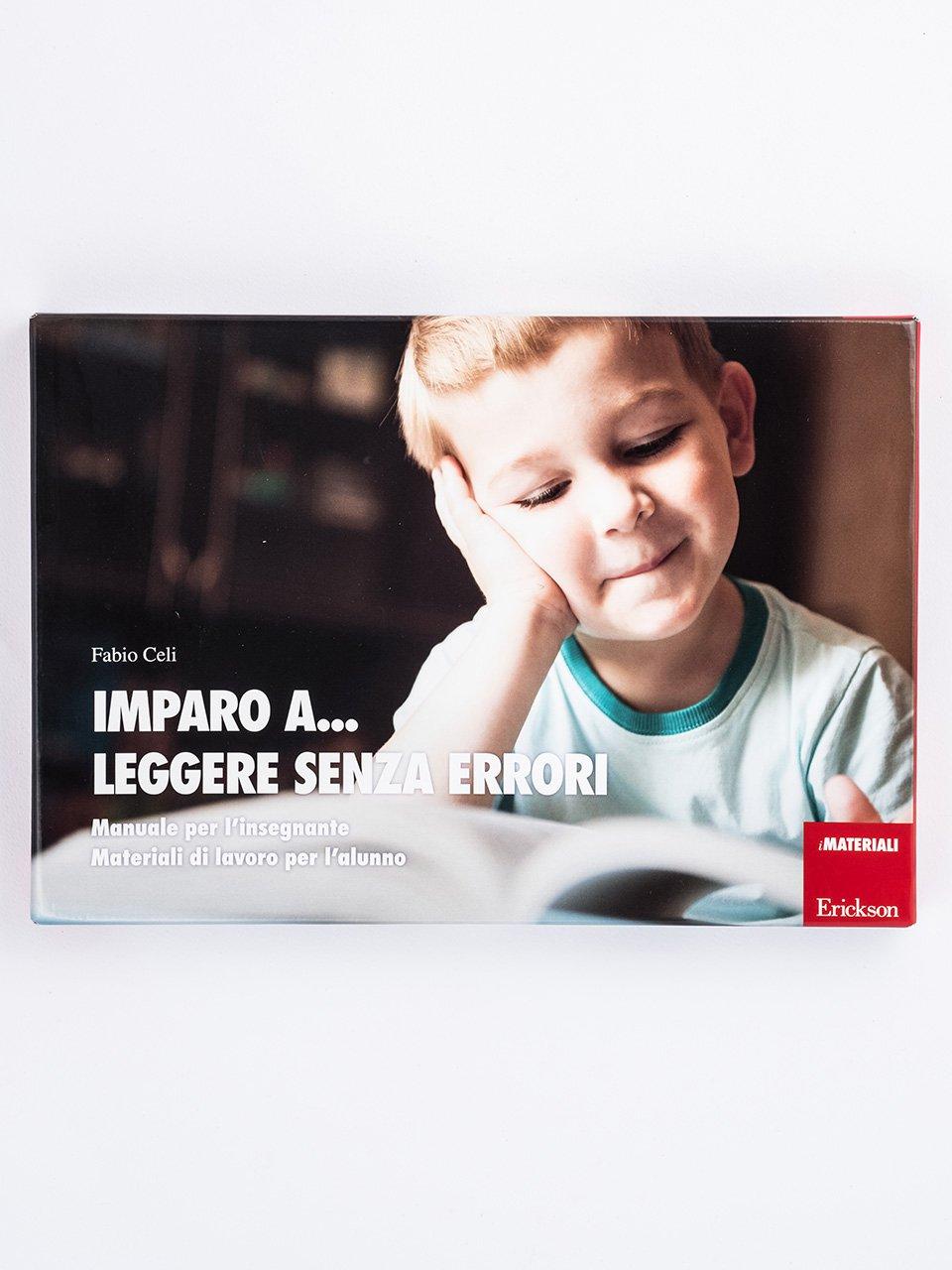 Imparo a... leggere senza errori - Leggere testi - Libri - App e software - Erickson