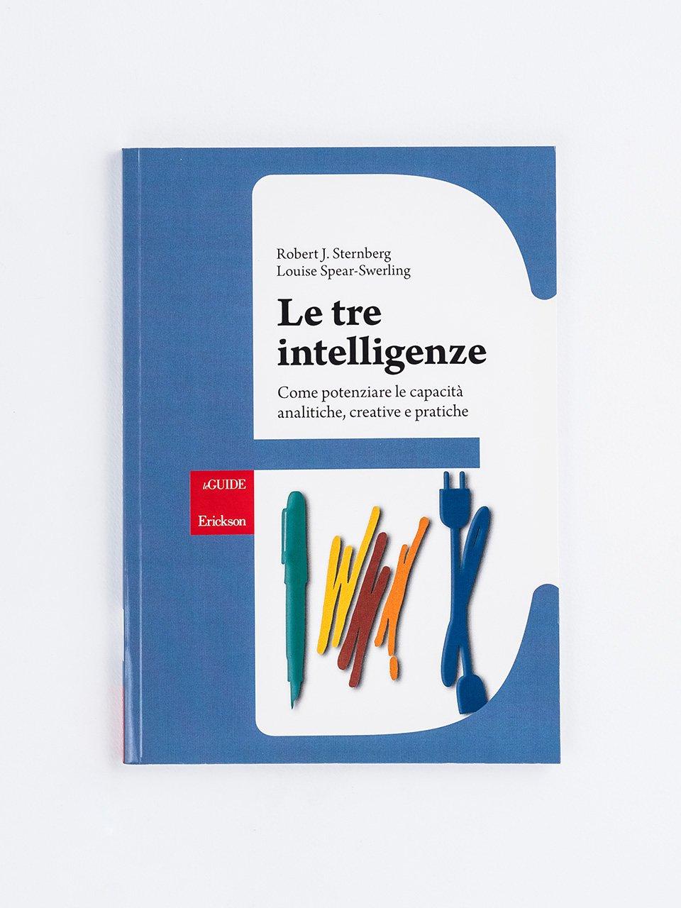 Le tre intelligenze - Superare i test di ammissione - Libri - Erickson